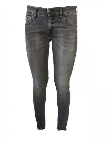 Jeans SLANDY LOW ZIP 00S8QF 069MY