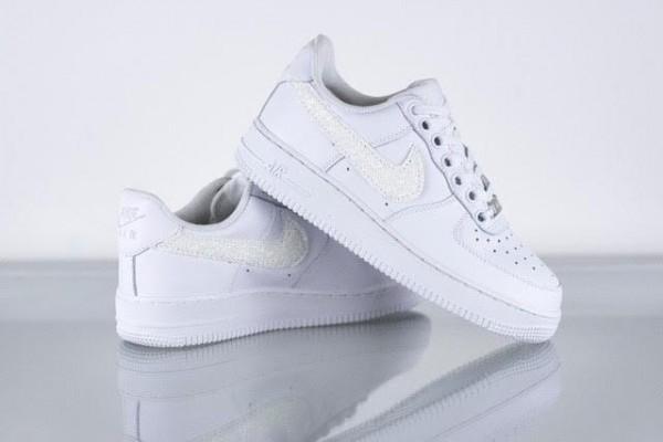 Sneaker NIKE AIR FORCE weiß