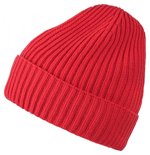 Cashmere-Mütze BARI 21742 orange
