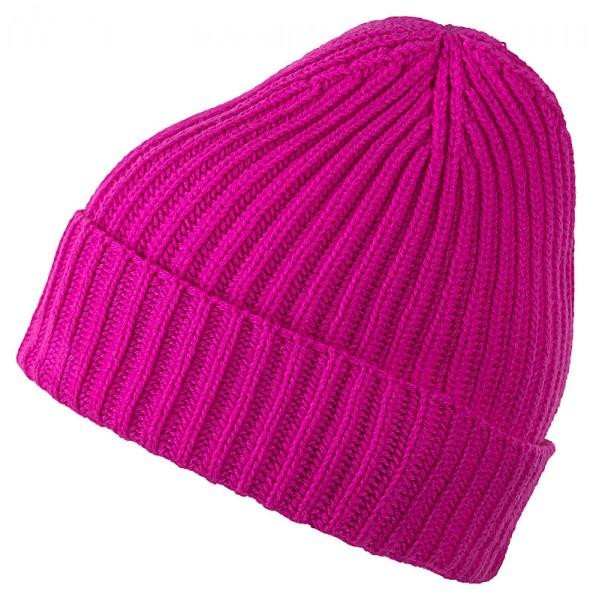 Cashmere-Mütze BARI 707836 neonpink