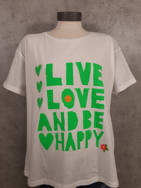 Shirt LOVE HAPPY 422/2308