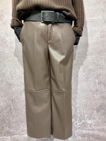 Chiara cropped leather CULOTTE 2189 00 0454