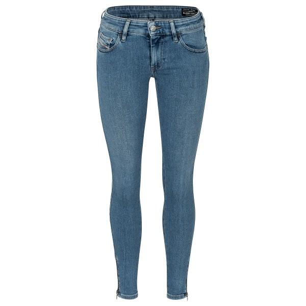 Jeans SLANDY LOW ZIP 00S8QG 009ZY