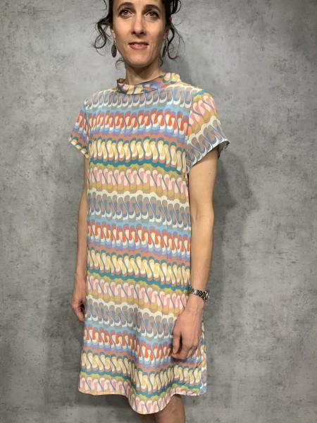 Kleid YOKO rainbow pastel