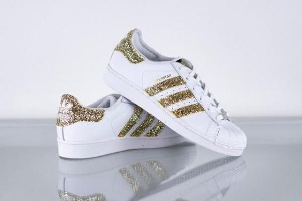 Sneaker SUPERSTAR gold