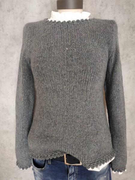 Damenpullover A-Form KELLERFALTE