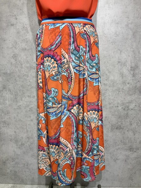 EMILY Rock Paisley orange 6843-200123